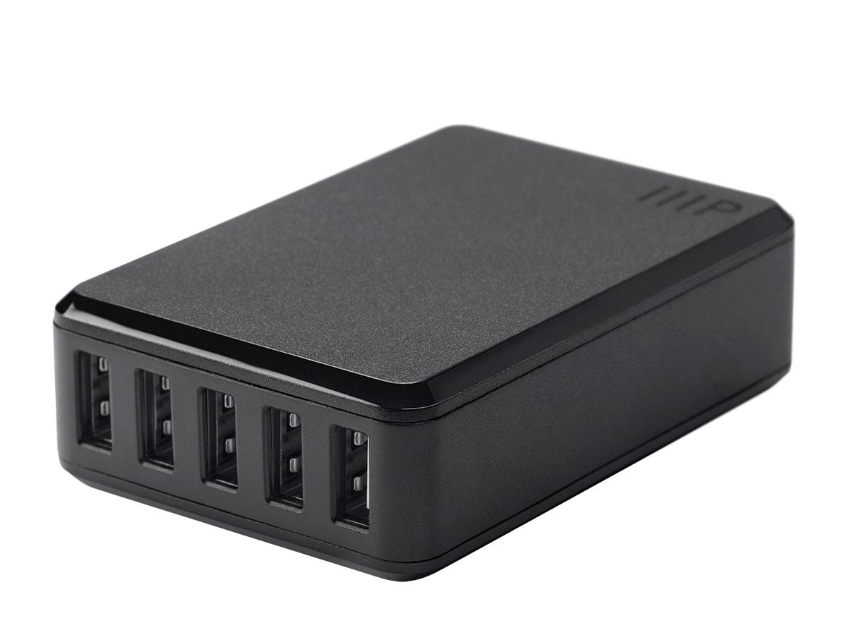 Monoprice Obsidian Series 5-Port 8A USB Smart Charger