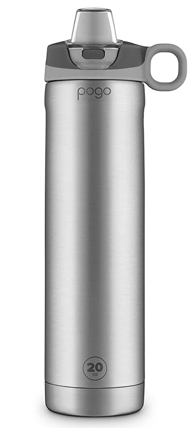 Terrific Pogo 20Oz Vacuum Insulated Stainless Steel Water Bottle With Silicone Straw Lid 20 Oz Interior Design Ideas Inesswwsoteloinfo