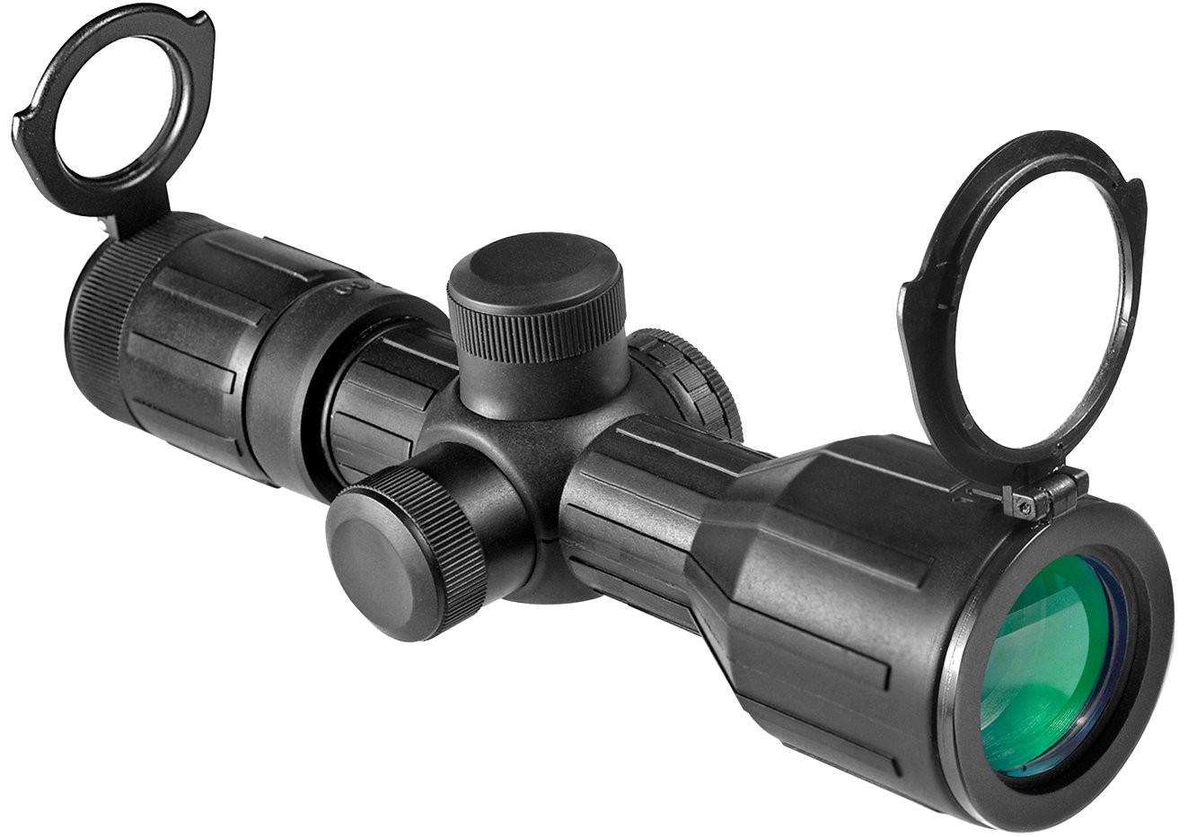 BARSKA 3-9x40 Compact Contour IR 4A Mil Plex Riflescope by BARSKA