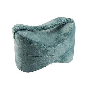 Almohada ortopédica para la rodilla, cojín para la pierna para el alivio de la ciática, dolor de espalda, dolor en la pierna, embarazo, cadera - ...