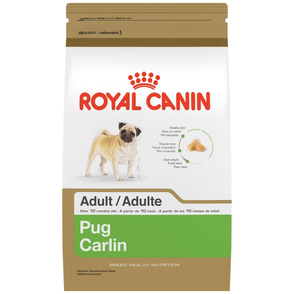 Royal Canin Pug Adult Breed Health Nutrition Dry Dog Food