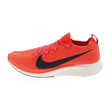 e4b5d6254e7ce9 Nike Zoom Fly Flyknit Men s Running Shoe Bright Crimson Black-Total Crimson  Size 7.5