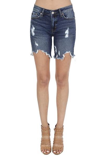 Amazon.com: KanCan Jeans Crina-Gia KC8391D - Pantalones ...