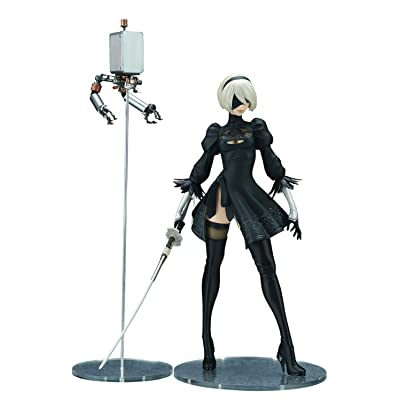 FLARE Aug188947 Nier Automata: 2B Yorha No. 2 Type B (Deluxe Version) 1: 7 Scale PVC Figure,, Multicolor: Toys & Games