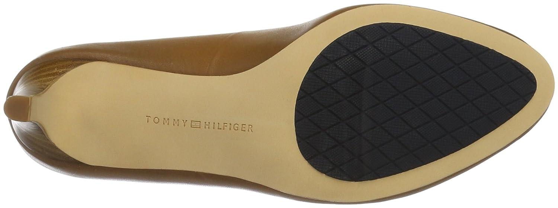Tommy Hilfiger Damen L1285isette 2a 2a L1285isette Pumps Beige (Cognac 606) 0244d3