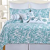 C&F Home Cora Blue Twin Quilt