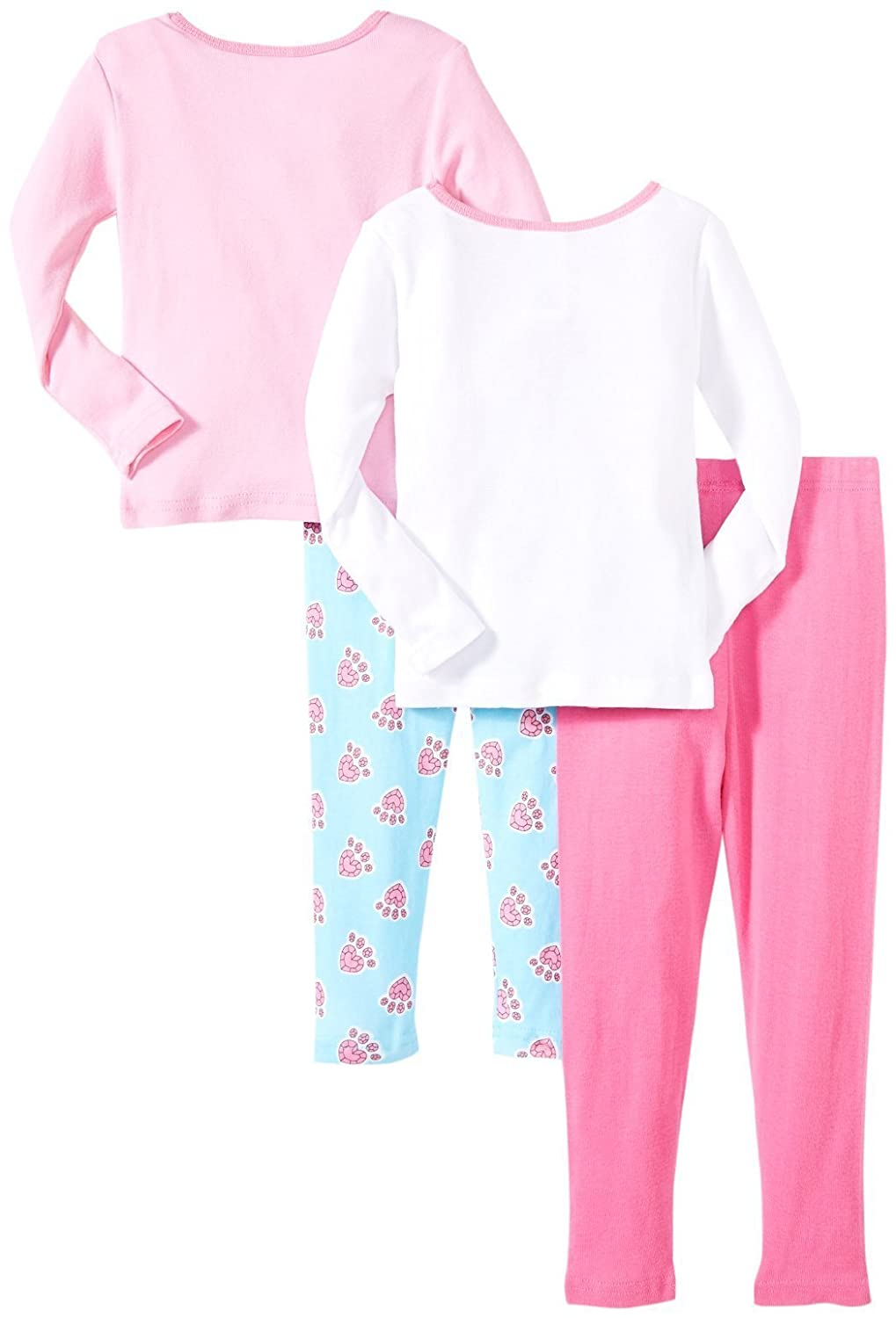 Kid Disney Big Girls Royal Party 4-Piece PJ Set