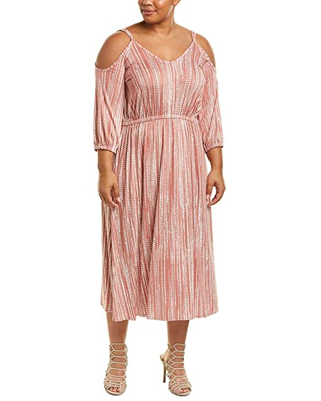 64fef23d3e7 Amazon.com  Rachel Pally Womens Plus Ariana Midi Dress