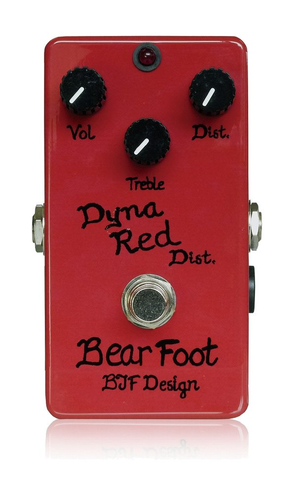 定番  BearFoot ベアフット Red ディストーション Dyna Red Dist Dist BearFoot (国内正規品) B00BG1U8D6, INVENTER:3079d2c5 --- vezam.lt