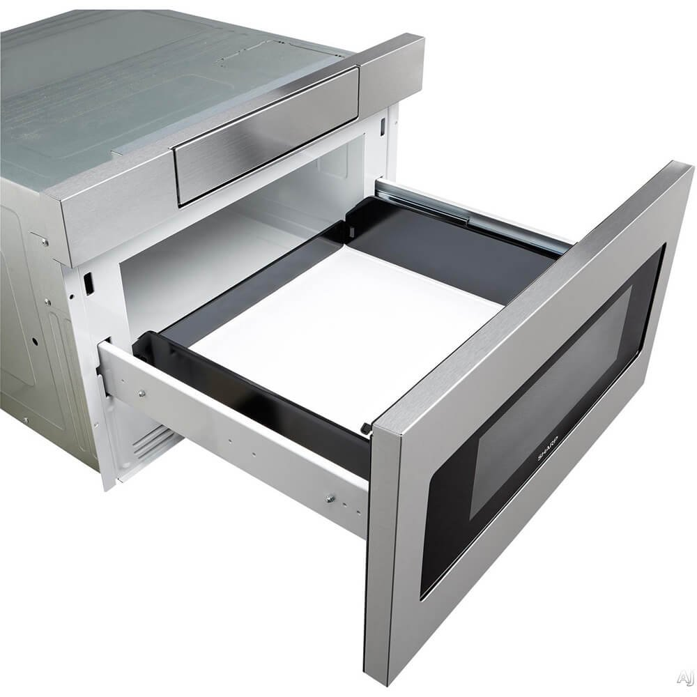 cu common shop drawer steel stainless in ft microwave actual sharp pd