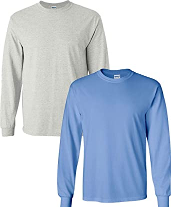 5400 Gildan Heavy Cotton 100/% Cotton Long Sleeve Tshirt