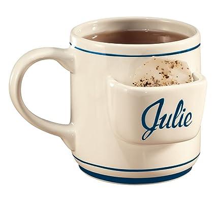 amazon com miles kimball personalized tea bag mug coffee cups mugs