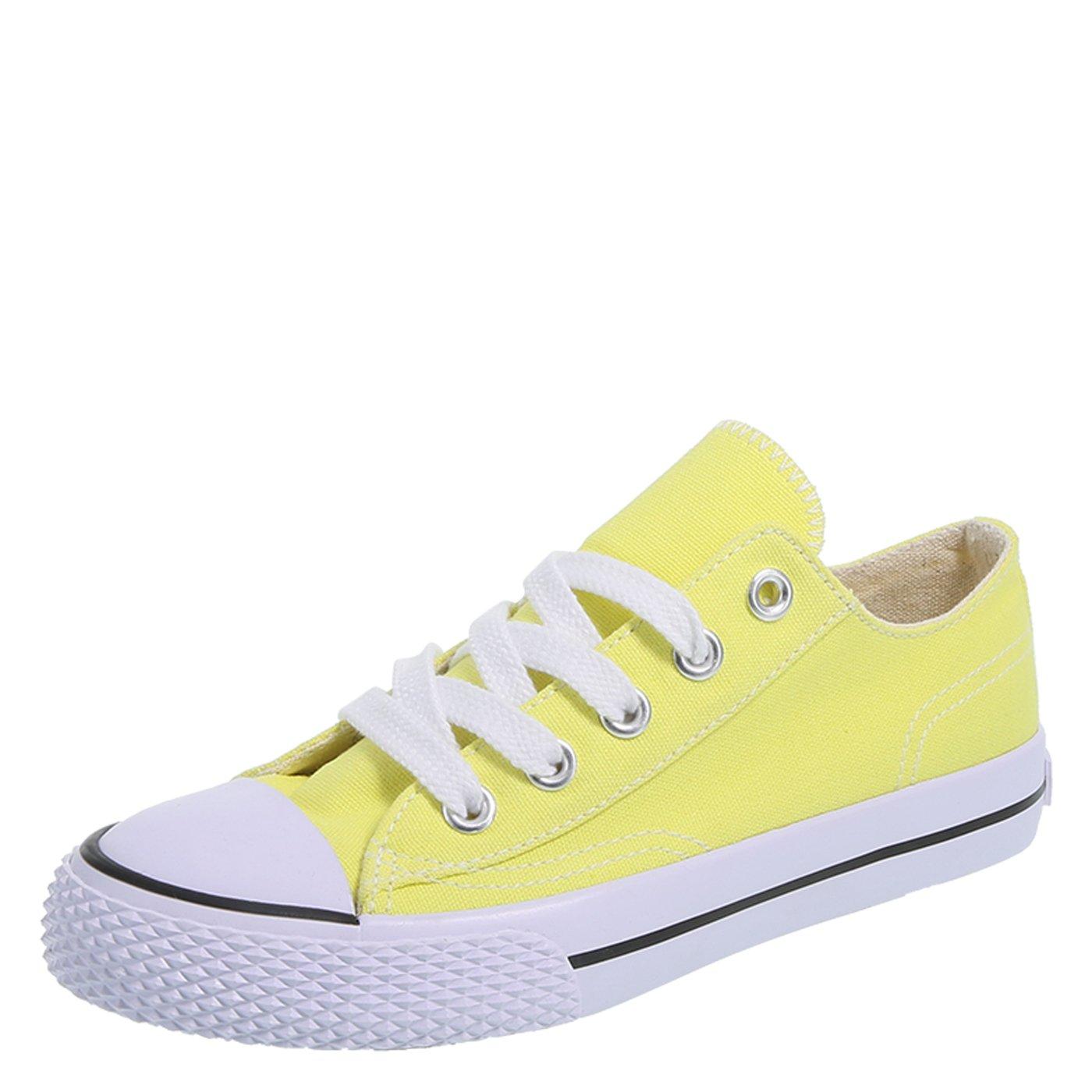 Airwalk Lemon Canvas Kids' Legacee Sneaker 4 Regular