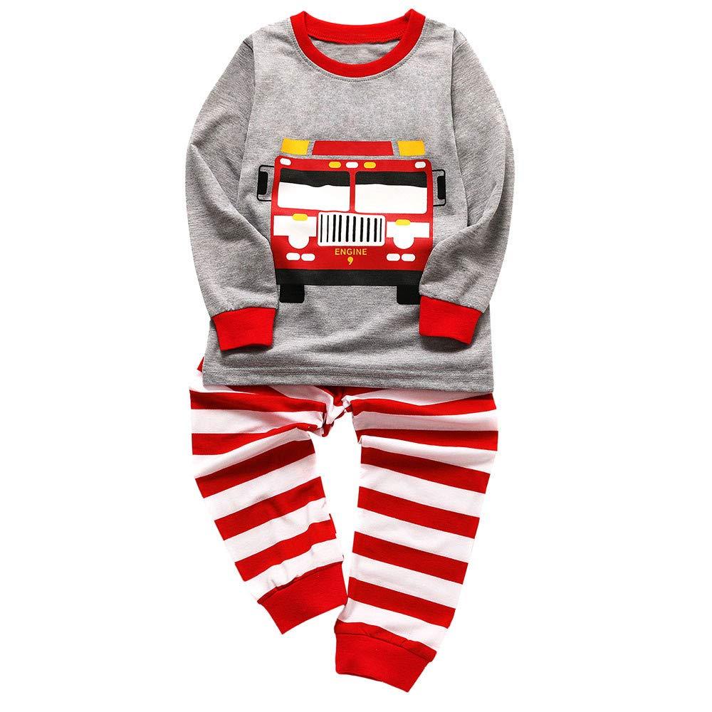 Pijamas Bebé, LANSKIRT Bebé Niño Niña Pijamas de Dibujos ...