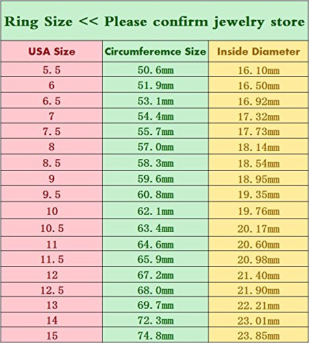 Just Lsy 6mm Titanium Rings Plain Dome High Polished Silver Wedding Band in Comfort Fit Size 5.5-15