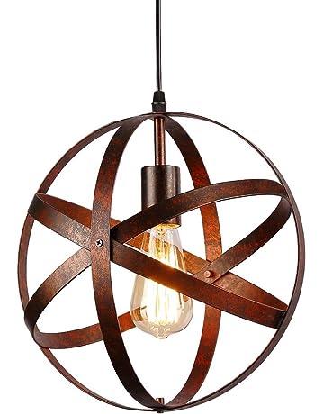 Suspension Luminaire Industrielle,design Lampe Plafonnier Vintage En Métal  Luminaires Suspension Abat Jour Lustre