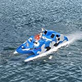 Ginzick Rc Remote Control Super Fun Missile Stealth Speed Boat (Great for Beginners)