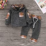 Kids Toddler Infant Baby Boys Girls Fall Outfit