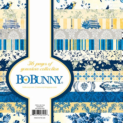 Bo-Bunny Paper Pad 6x6 36/Pkg-Genevieve