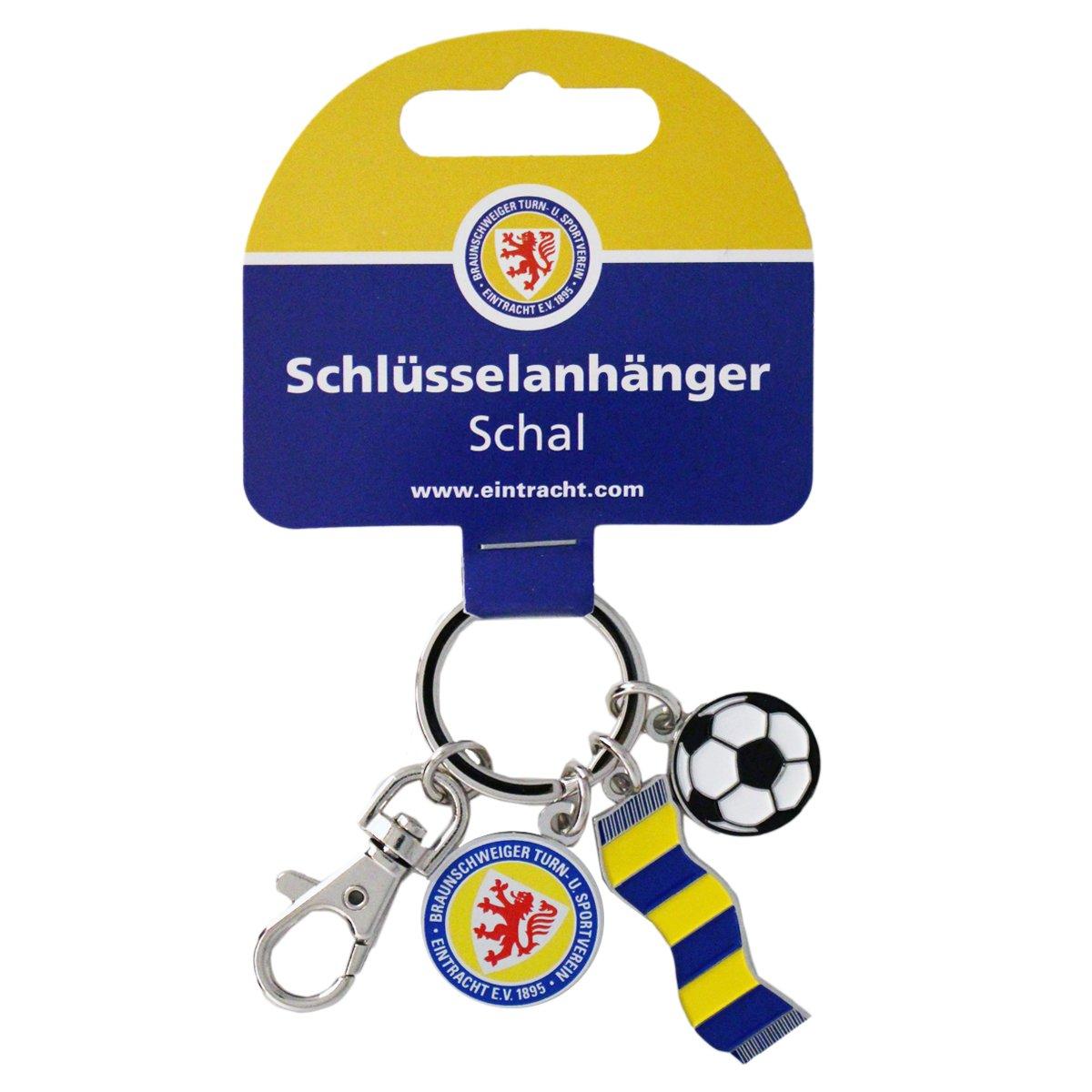 Eintracht Braunschweig Schl/üsselanh/änger 3er