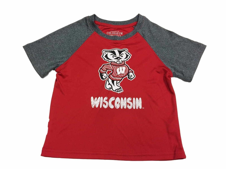 有名ブランド Wisconsin Badgersコロシアム幼児ボーイズレッドグレーSS Tシャツ&パンツセット( 3t 3t ) B01F5QQM4Q ) B01F5QQM4Q, DailyBijou:c0f499cf --- a0267596.xsph.ru