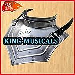 Iron Gorget Set Medieval Knight Crusader Roman Spartan Armor Steel Epic Gorget