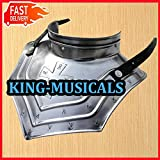 Iron Gorget Set Medieval Knight Crusader Roman Spartan Armor Steel Epic Gorget