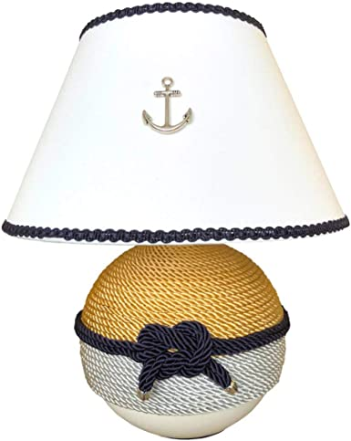 Lampada Da Tavolo Stile Marino H Cm 26 Amazon It Illuminazione