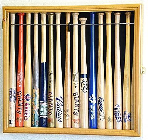 Oak Wood Color Small Mini Baseball Bat 18