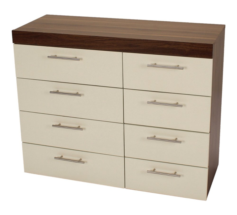 Wooden Chest Of Drawers Wooden Commode Dresser Cabinet Furniture Tallboy Whit