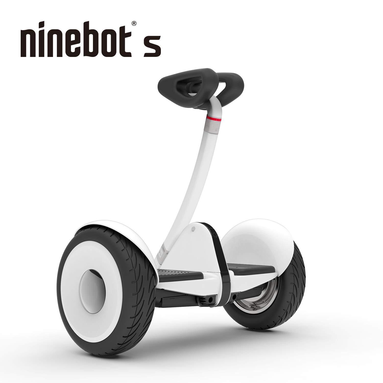 Segway Ninebot S Smart Self-Balancing Electric Transporter, White by Segway