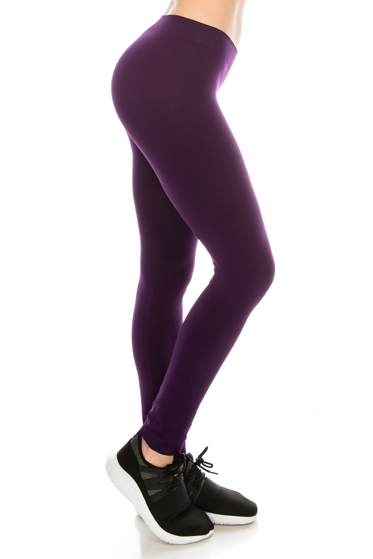Kurve Premium Ultra Soft High Waist Leggings, UV Protective Fabric UPF 50+ (Made with Love in The USA)