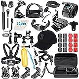 VanteexPro 58 in 1 Accessories Kit for Gopro Hero 6 5 4 3+ 3 2 1 AKASO EK7000 Camera Outdoor Sports Accessories Bundle Pack