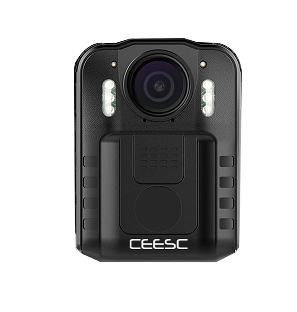 CEESC Body Worn Camera WN9 with Night Vision for Police Law Enforcement, 1080P 2 Inch LCD Screen Sports Action Camera with 120 Degree Wide Angle (32GB) by CEESC