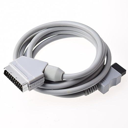 Gam3Gear real RGB Scart Cable cuerda del plomo para Nintendo Wii PAL: Amazon.es: Industria, empresas y ciencia