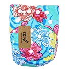 iZiv(TM) Newborn Diaper with 1 Thick Insert Infant Waterproof/Adjustable/Reusable/Washable Pocket Cloth Diaper Fit Babies 0-3 Years(Flower)