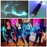 Snowcc Night Lights Optical Fiber LED-Programmable LED Fiber Optic Whip-Light Orbit LED Rave Toy for Dances