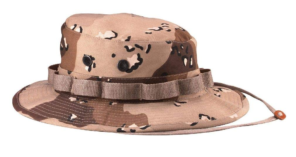 8d73f1da8cbad Amazon.com   Boonie Hat Wide Brim Military Camo Hunting Camping Bucket Cap    Sports   Outdoors