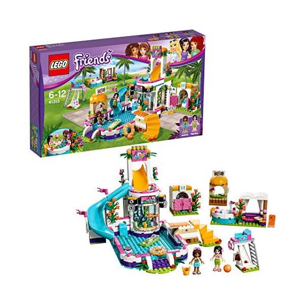 LEGO Friends La Piscina all'Aperto di Heartlake, Multicolore, 41313 1 spesavip