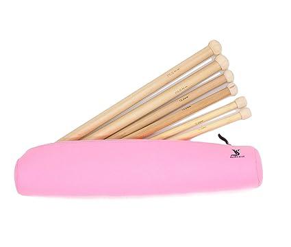 "Knit Sticks Bamboo Single Point Knitting Needles 9/"" choose size"