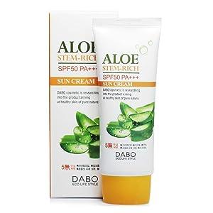 DABO Aloe Stem-rich Sun Cream SPF50+/PA+++ (70ml)