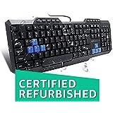 Renewed  Amkette Xcite Neo USB Keyboard  Black