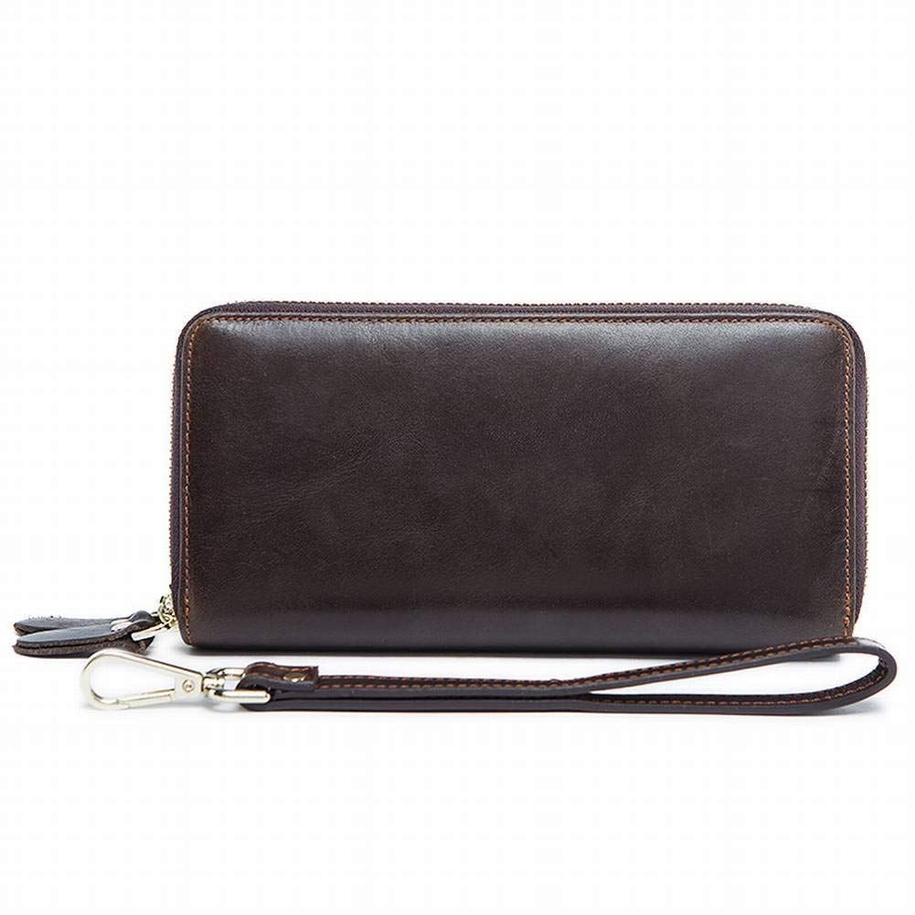 Creative Multifunction Wallet Business Double-Layer Large-Capacity Clutch Mens Wallet Long Hand Bag for Men