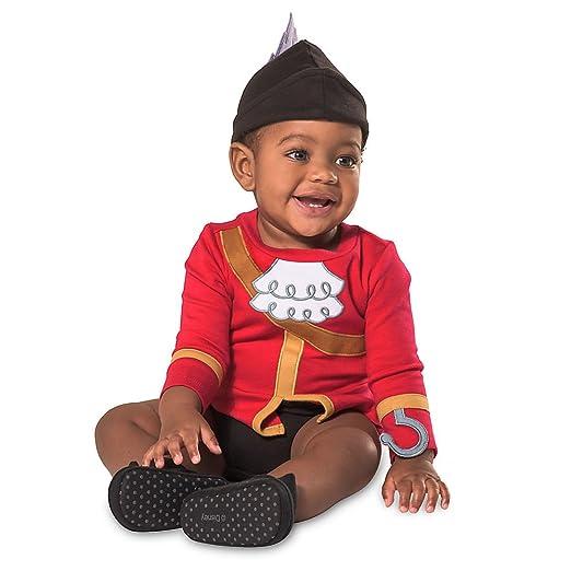 sc 1 st  Amazon.com & Amazon.com: Disney Captain Hook Costume Bodysuit for Baby - Red: Shoes