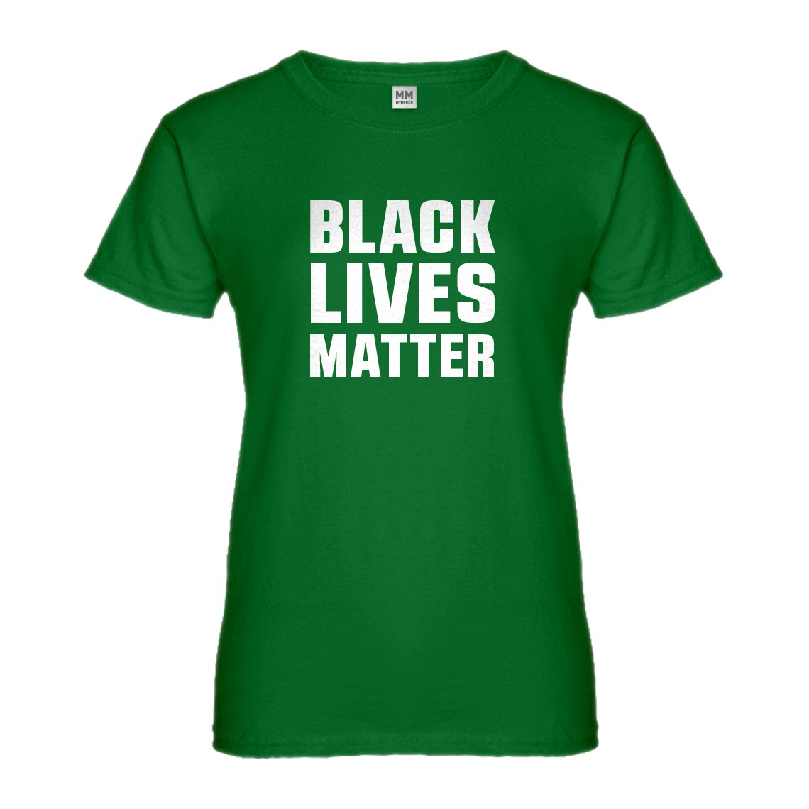 Indica Plateau Black Lives Matter Womens T-Shirt 3018-W