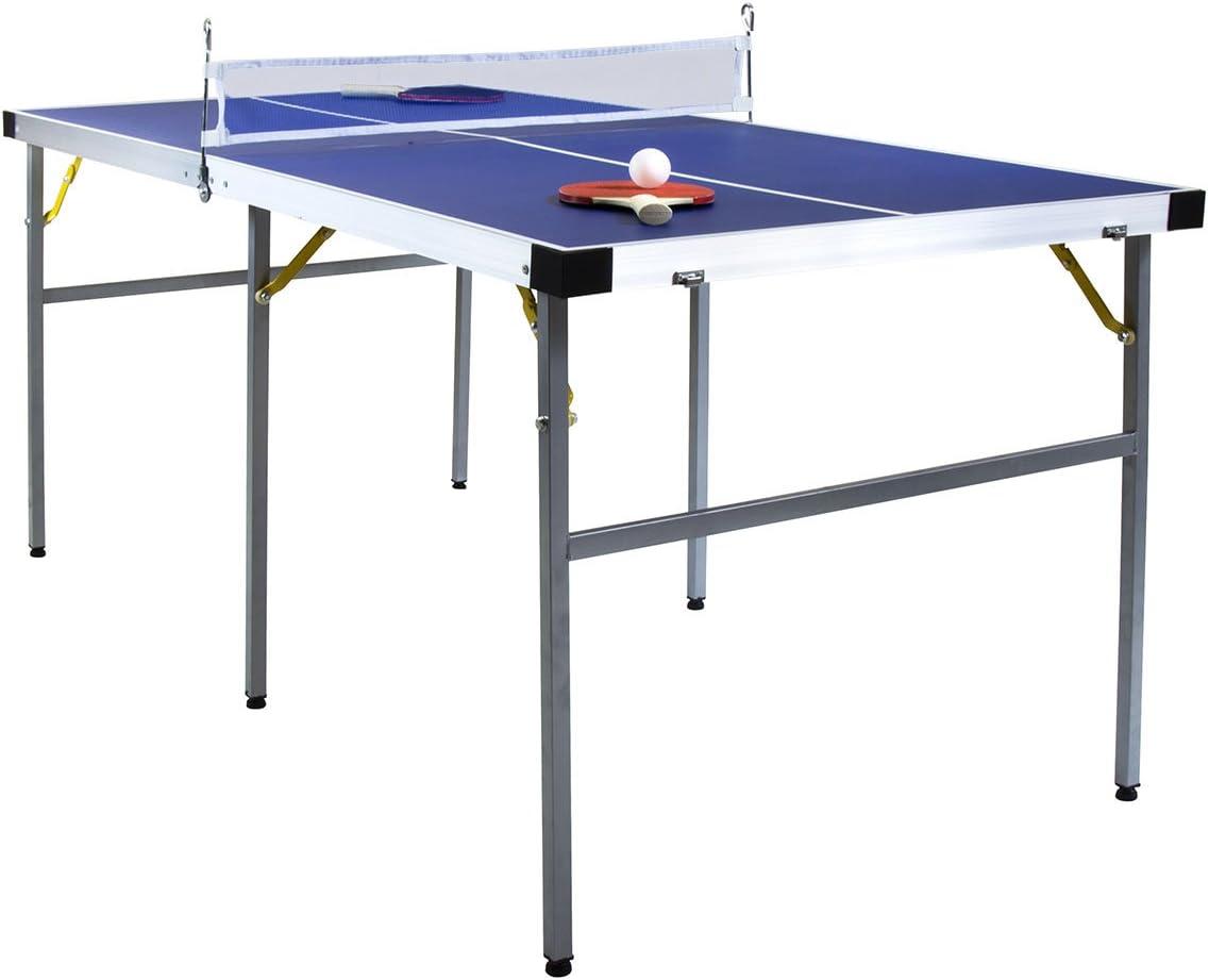 Charles Bentley Júnior 1-2 Mesa Plegable Mesa de Ping Pong Equipo ...