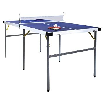 7029bbddd6ddc Charles Bentley Table de ping-Pong Pliable - Vert - 152 cm  Amazon ...