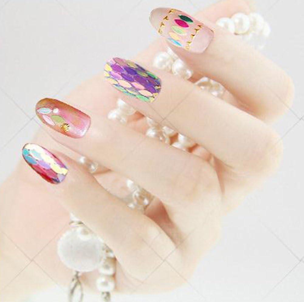 Inconpro Decoracion de uñas postizas para Arte 1 Caja Herramientas ...