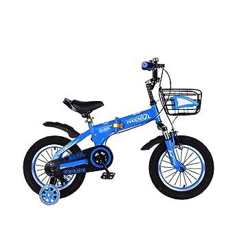 FINLR Bicicleta For Niños Bicicletas Plegables Pedal For Niños ...