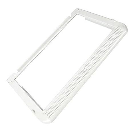 Spares2go estante de cristal bandeja y embellecedor de plástico para Electrolux frigorífico congelador (color blanco